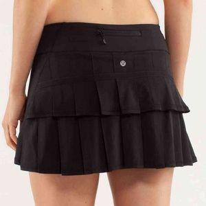 Lululemon Running Athletic Skirt Size 2